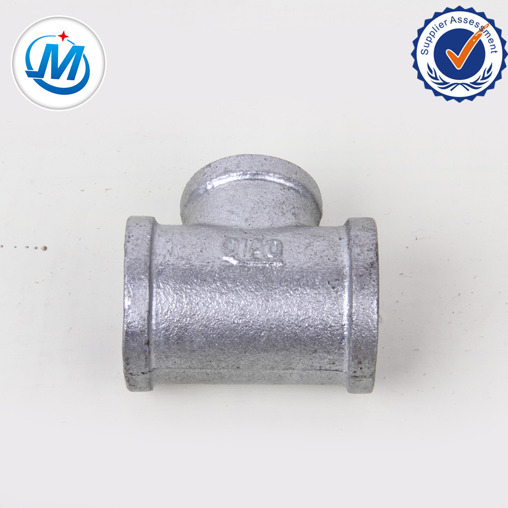 Galvanized Malleable Iron Pipe Fitting Tee
