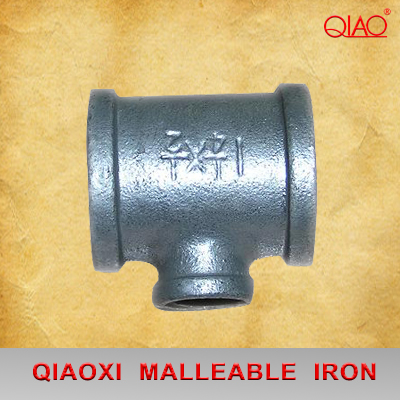Malleable Iron Pipe Fittings Banded Reducing Tee
