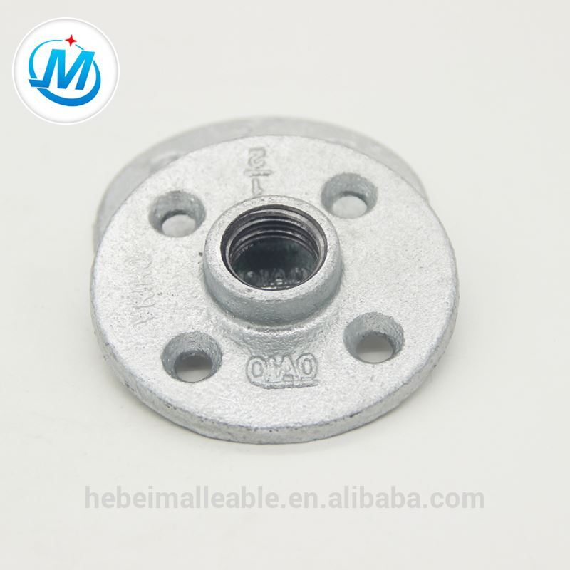 water pipe fittings galvanized flange