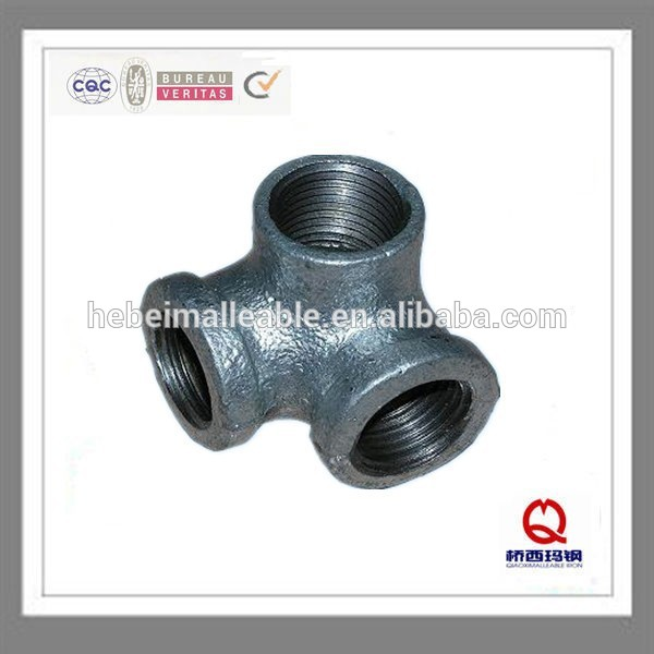 Factory made hot-sale Copper Pipe Threaded End Cap - hebei factory supply low price elbow NO. 90 china round galvanized malleable iron 3 way elbow pipe fittings – Jinmai Casting