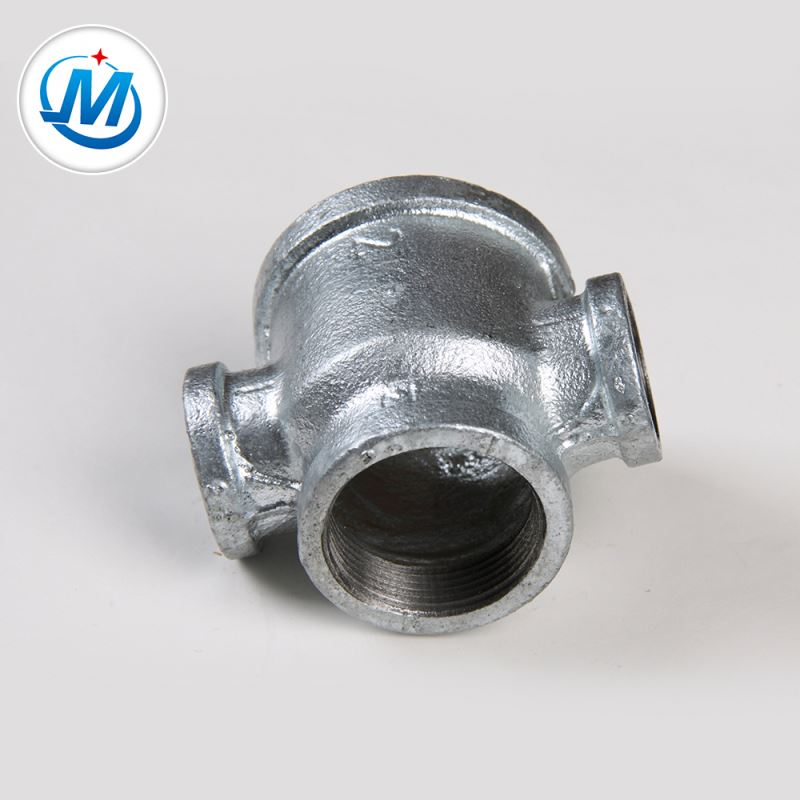Passed BV Test Female Connection 4 Way Pipe Reducer Cross Connector
