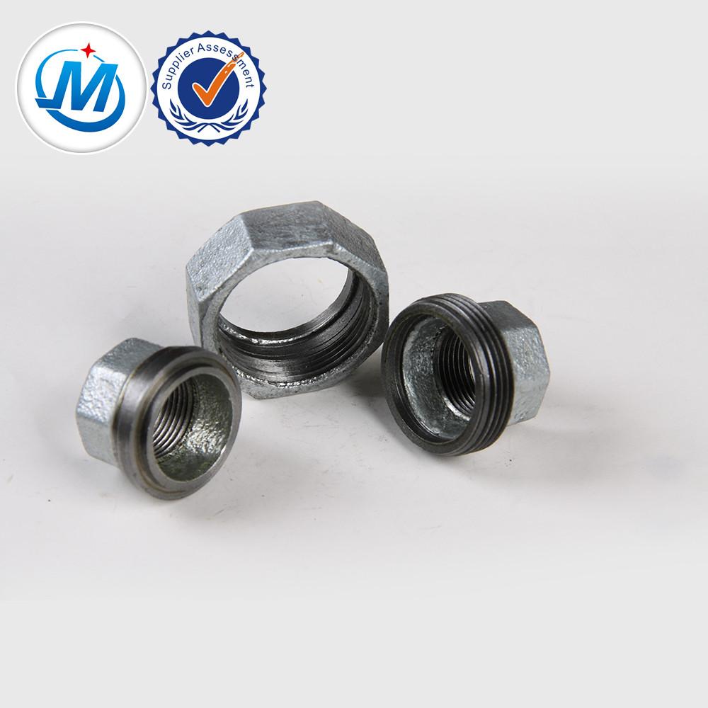 Renewable Design for Plastic Tube Plug - shijiazhuang factory malleable black iron gi pipe fitting union – Jinmai Casting