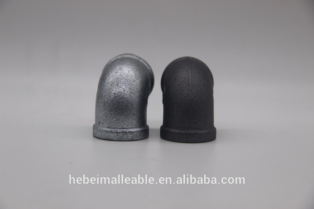 Factory wholesale Threaded Steel Pipe Fittings - GI &MI malleable cast iron elbow – Jinmai Casting detail pictures