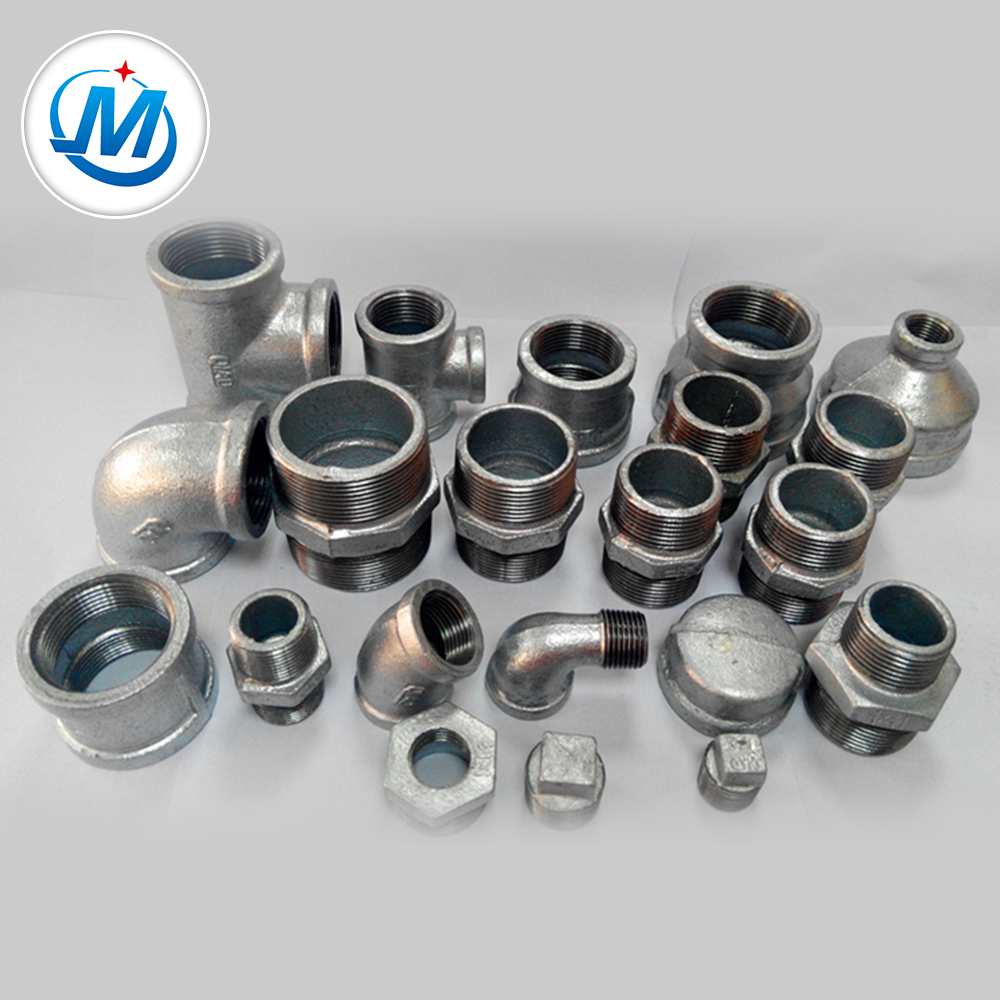 Metal Manufacturer Hot Dipped Galvanized GI Malleable Iron Pipe Fitting For Bathroom