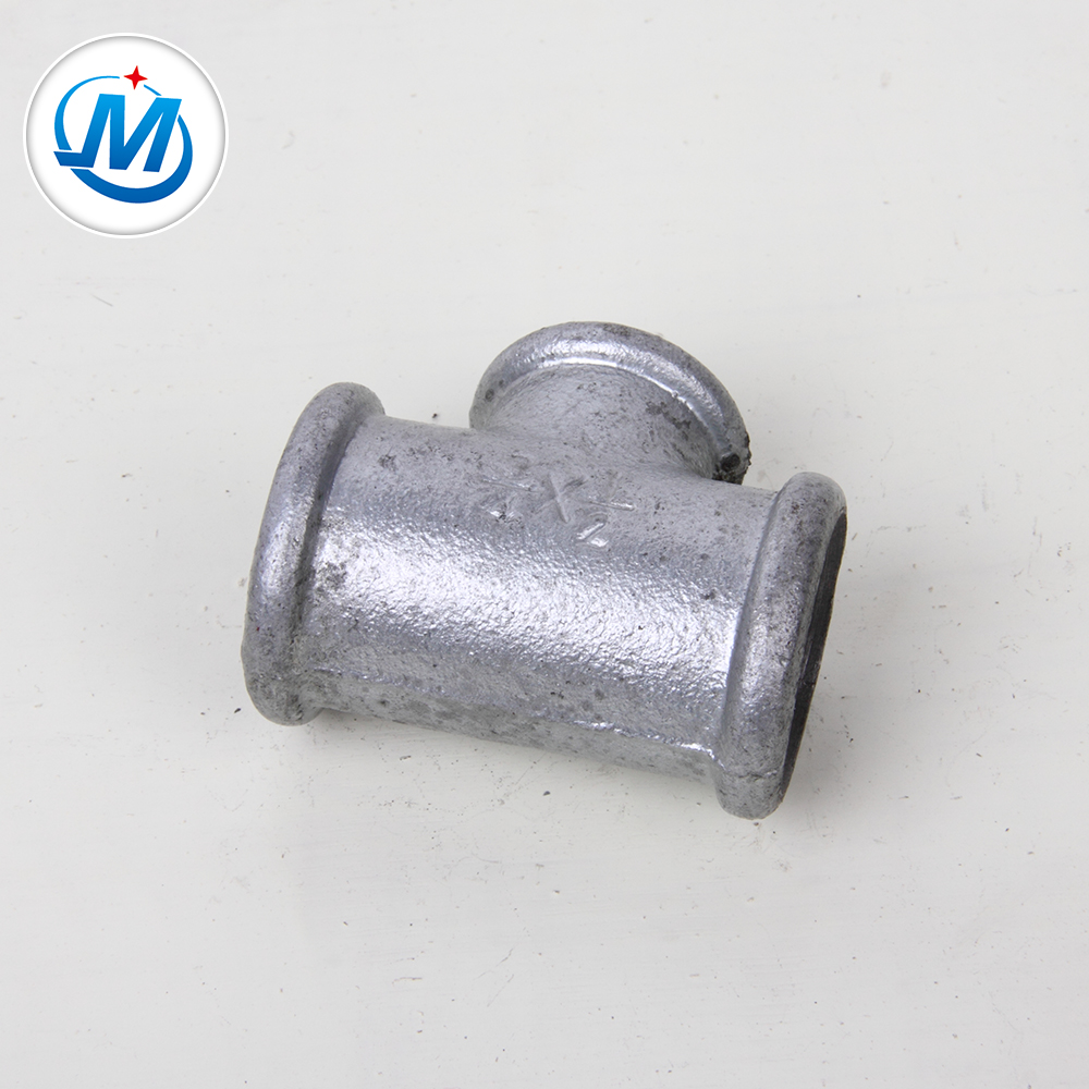 China Supplier Reducing Nipple - Factory supply hot dipped galvanized BS standard pipe fitting tee – Jinmai Casting
