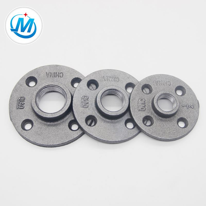 hot dipped galvanized malleable cast iron flanges
