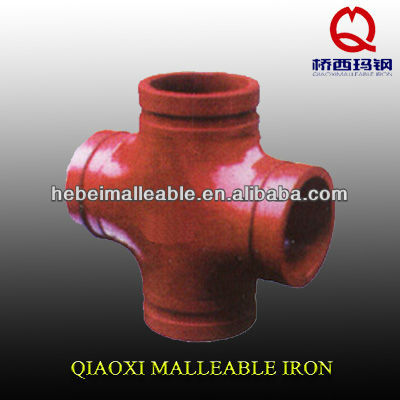 fire fighting rigid ductile iron grooved coupling