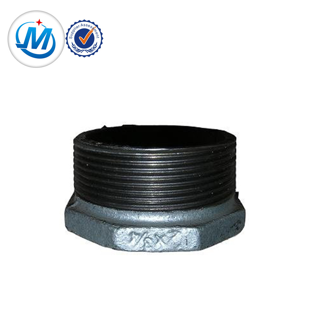 OEM/ODM China Hdpe Screw Fittings - malleable iron pipe fitting with casting iron bushing pipe fitting – Jinmai Casting