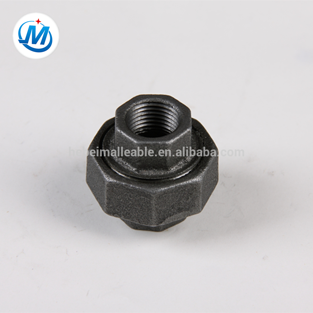 Manufactur standard Ppr Male Threaded Union Brass Or Iron - QIAO brand union brass to iron seat concial joint M&F pipe fittings – Jinmai Casting