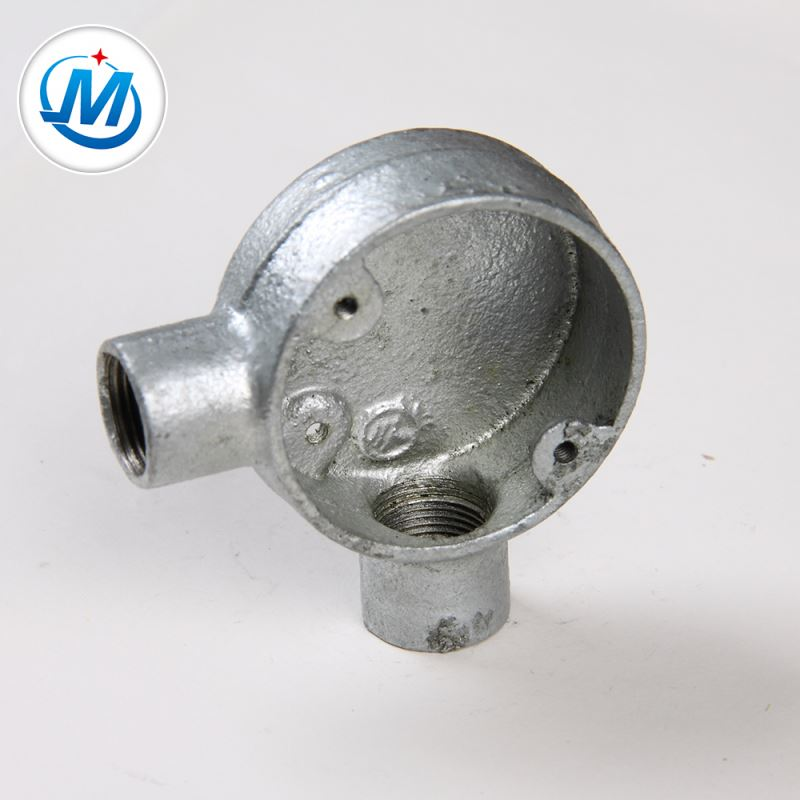 Strong Production Capacity For Oil Connect Hot Dip Galvanized Malleable Iron Junction Box