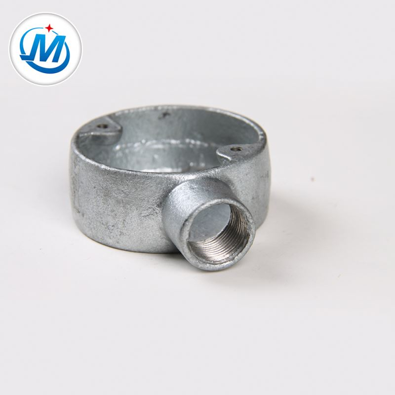 BV Certification Water Supply Making Galvanized Malleable Iron Junction Box