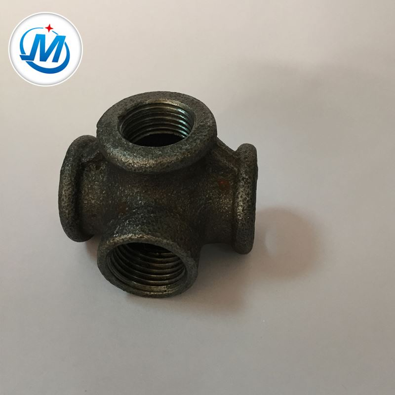 Cheapest Factory Female Threaded Flexible Joint - Strong Production Capacity Competitive Price Pipe Casting Malleable Iron Tee – Jinmai Casting detail pictures