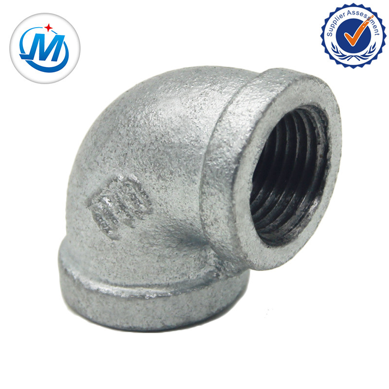 Top Suppliers Plumbing Fittings Names - Black Cast Iron Gas Malleable Iron Pipe Fittings – Jinmai Casting