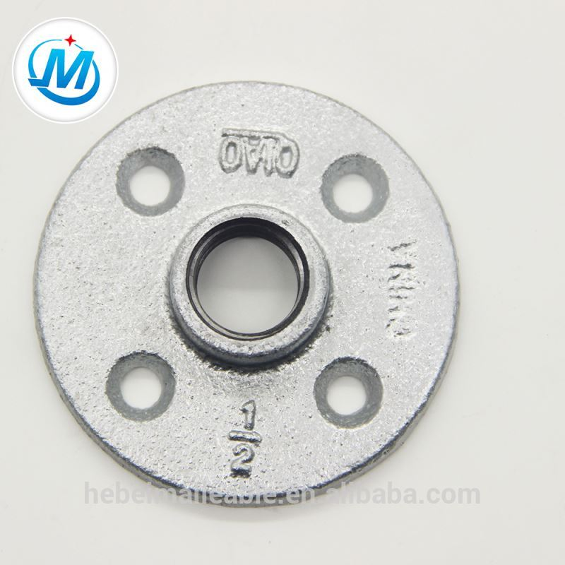 malleable iron pipe flange fitting price