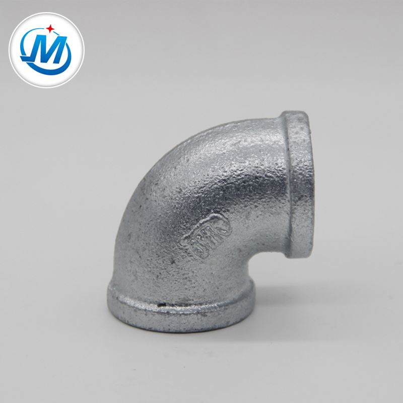 OEM Factory for Machined Fitting Female Male Brass Nipple - galvanized elbow pipe fitting npt thread dimensions – Jinmai Casting detail pictures