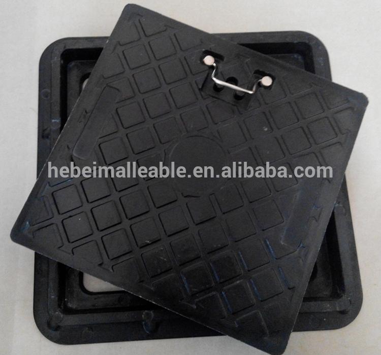 factory low price 10mm Compression Fitting - square composite manhole cover EN124 D400/plastic manhole cover/waterproof manhole cover – Jinmai Casting