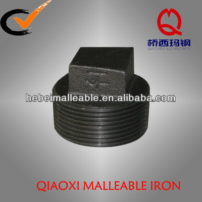 malleable iron pipe fitting tapered pipe plugs