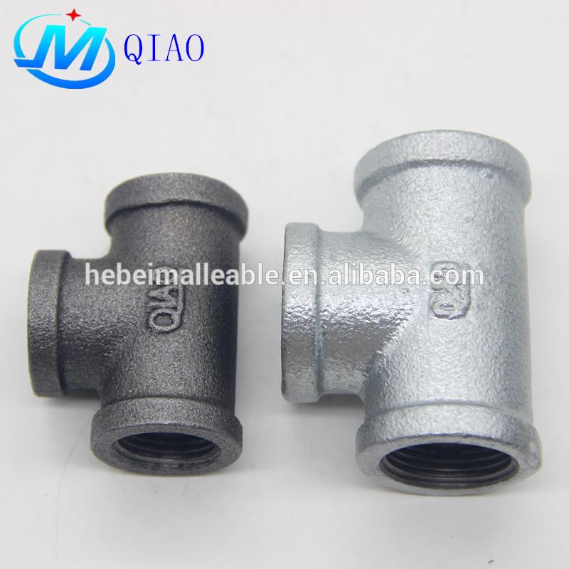 EN10242 standard gi cast iron pipe fitting