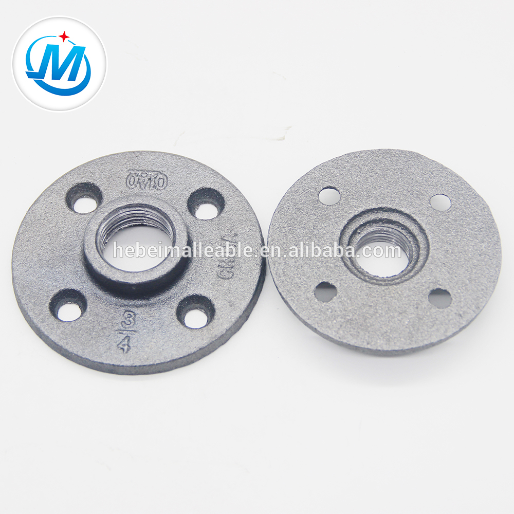 gi malleable iron pipe fitting flanges