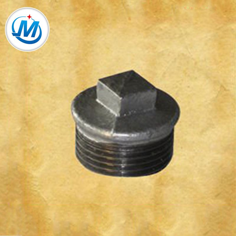 Top Quality Fm Ul Pipe Fitting - Carring Out the Contract Seriously Connect Oil Use DIN Standard Pipe Fitting And Coupling Malleable Iron Plug – Jinmai Casting