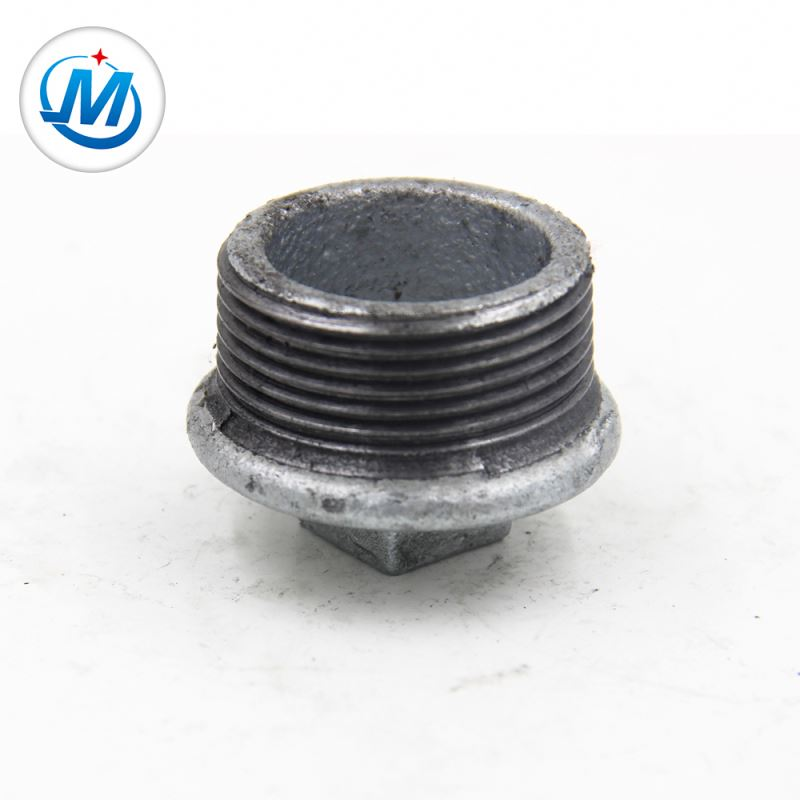 Wholesale Pipe Fittings With Set Screws - High Praise 1.6mpa Working Pressure Square Head Gi Pipe Fitting Plugs – Jinmai Casting
