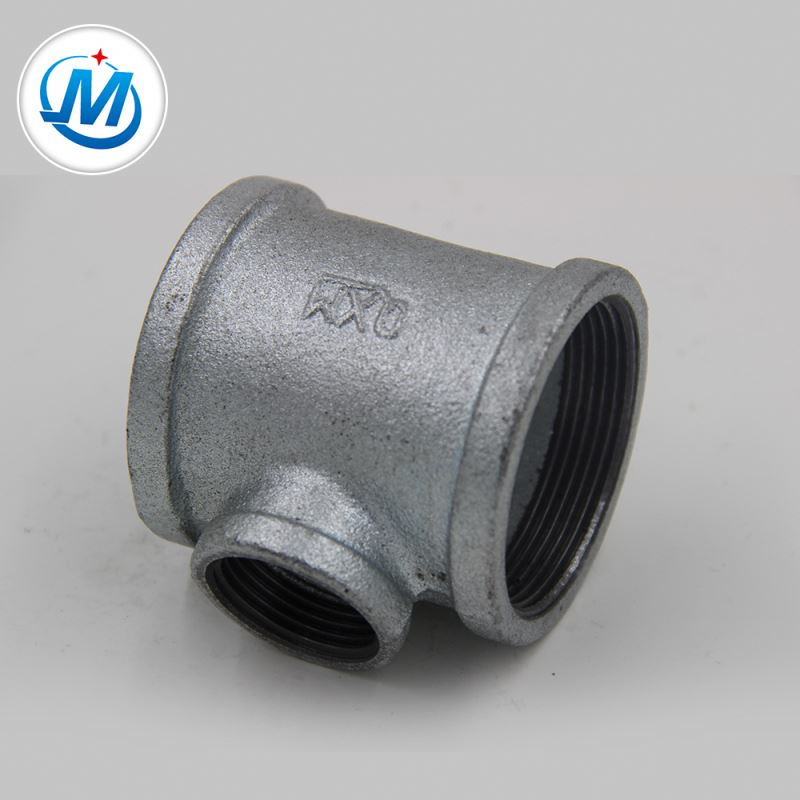 Have Almost 300 Retail Shop in China, Malleable Cast Iron Drain Pipe Fittings Reducer Tee
