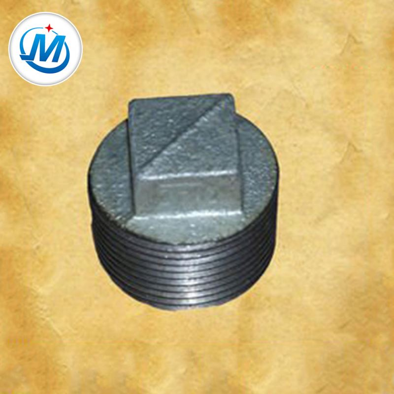 Factory best selling Malleable Iron Thread Pipe Fittings - Professional Enterprise For Air Connect As Media Plain Type Gi Pipe Fitting Plugs – Jinmai Casting