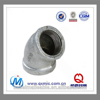 Massive Selection for Compression Fittings For Stainless Steel Tube - line plastic 45 degree elbow gas pipe fitting – Jinmai Casting