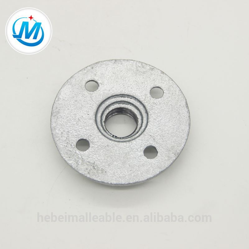 malleable iron round flange fittings