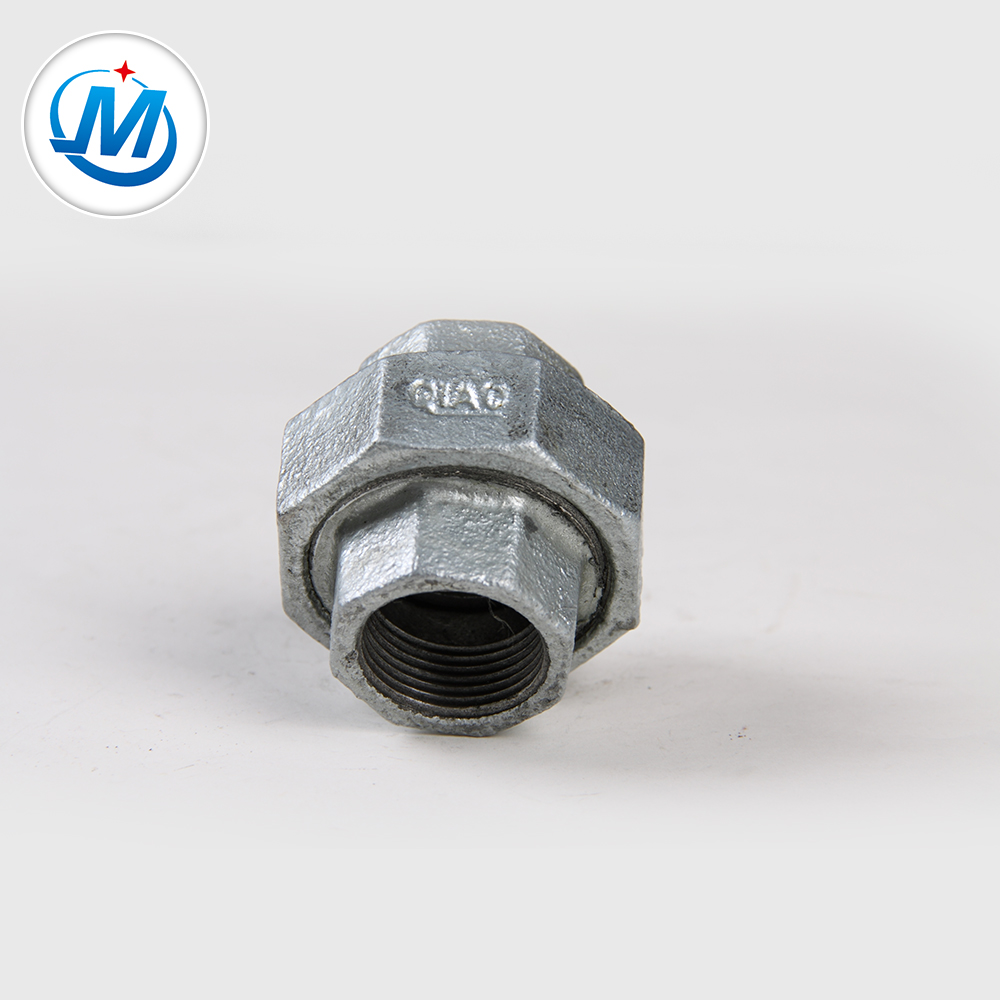 """Low price for Threaded Union Rubber Expansion Joint - malleable iron pipe fitting casting gi 1"""" Flat Seat Union – Jinmai Casting"""