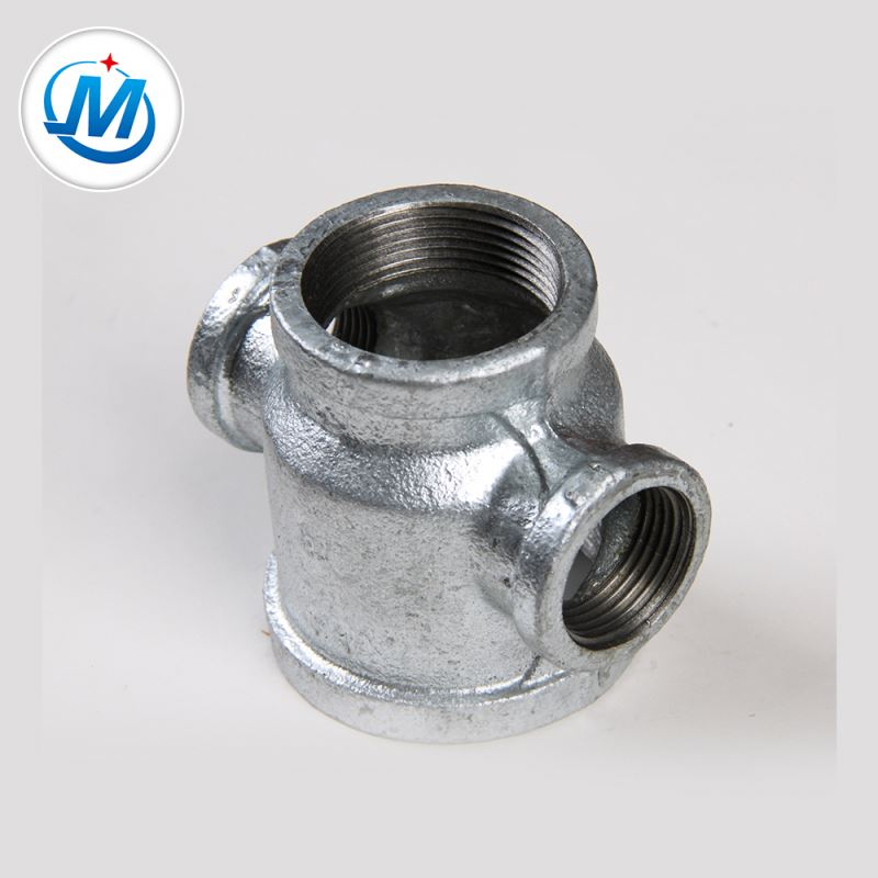 Manufactur standard Pipe Fitting Bends - Producing Safely 1.6mpa Working Pressure Iron Pipe Fitting Cross Reducer – Jinmai Casting