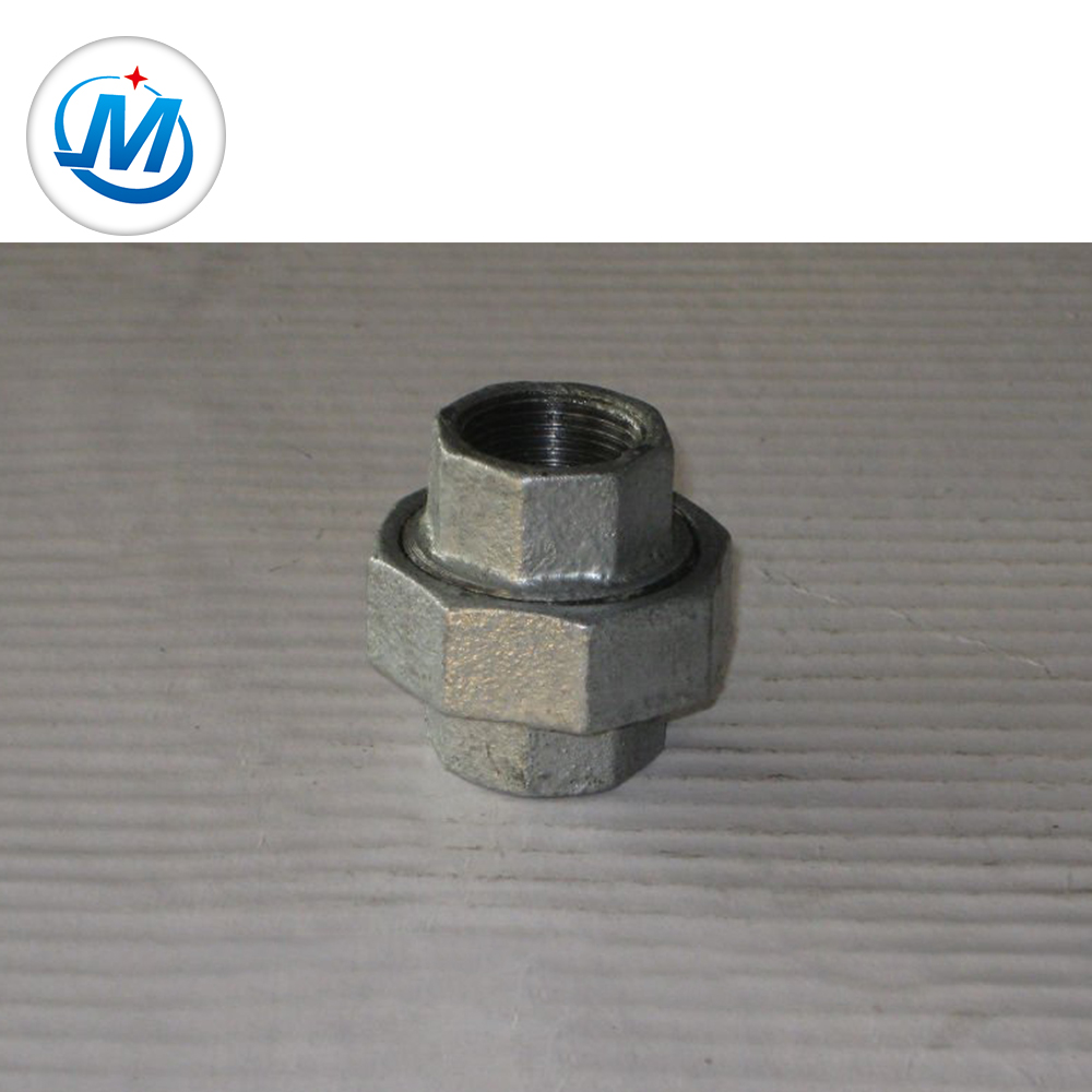 """OEM manufacturer 45degree Elbow Pipe Fitting - malleable iron pipe fitting gi bv banded 5"""" Flat Seat Union – Jinmai Casting"""