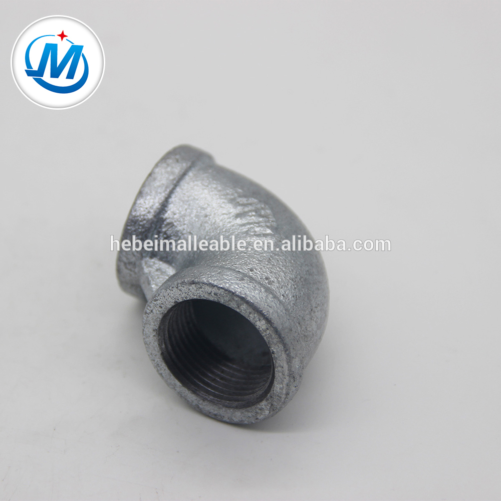 Factory Free sample A106 Carbon Steel Pipe Fittings - mytest malleable iron fitting thread elbow – Jinmai Casting