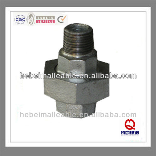"""Wholesale Price Straight Fitting - CWD NPT 3/4""""male and female conical joint iron to iron seat union – Jinmai Casting"""