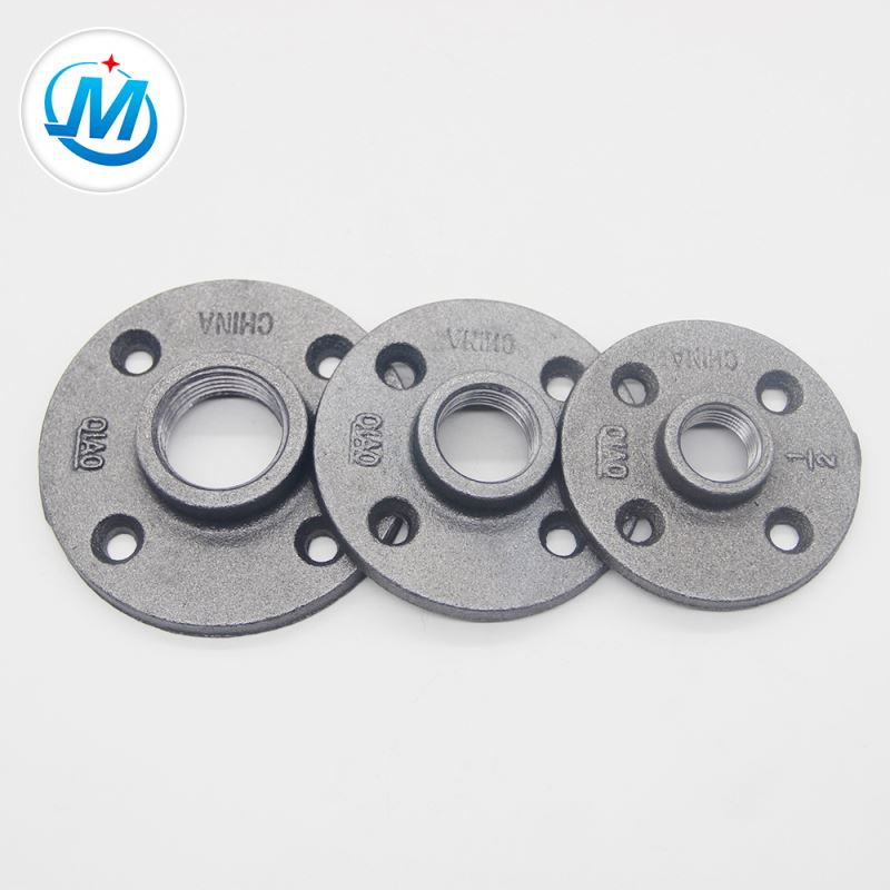 Factory Cheap Hot Astm A888 Grey Cast Iron Hubless Fitting - China Supplier 3/4 Inch Threaded Malleable Flange – Jinmai Casting detail pictures
