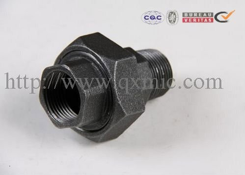 """Big discounting Double Thread Hexagon Nipple - malleable iron pipe fitting 6""""conical female union – Jinmai Casting detail pictures"""