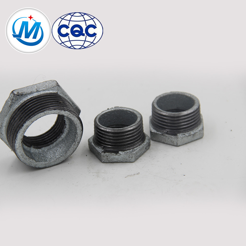 """Best quality 90 Degree Bend Pipe Fitting - hebei QIAO 2"""" NPT GI malleable iron pipe pipe fitting plumbing busing – Jinmai Casting"""