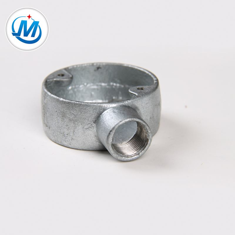 Passed ISO 9001 Test 100% Pressure Test Malleable Iron Metal Junction Boxes