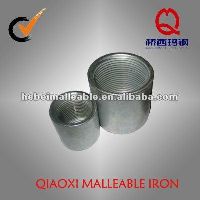 hot dipped galvanized thread steel pipe fitting merchant coupling