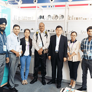 Hebei Jinmai Casting Co, Ltd kuhudhuria 124 Canton Fair
